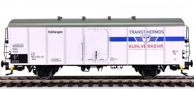Brawa 37209 (Spur 0) – Kühlwagen UIC Standard 1 Transthermos der DB