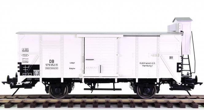Lenz 42203-02 (Spur 0) - Kühlwagen G10 mit Bremserhaus der DB