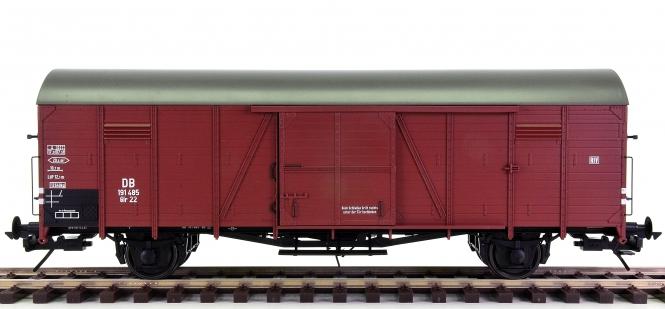 Lenz 42212-02 (Spur 0) - Gedeckter Güterwagen Glr 22 der DB