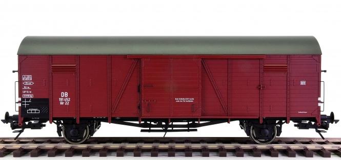 Lenz 42212 (Spur 0) - Gedeckter Güterwagen Glr 22 der DB