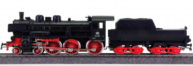 Märklin 3010 – Schlepptender-Dampflok BR 38 der DB