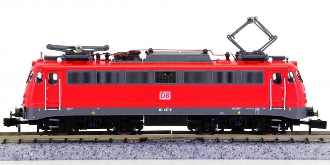 Fleischmann 733808 (N) – Elektrolokomotive BR 110 Bügelfalte der DB AG