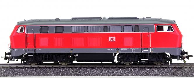 Fleischmann 394075 (AC) – Mehrzweck-Diesellok BR 215 der DB AG, digital + Sound
