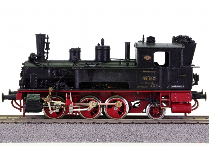 M+F (Merker u. Fischer) – Tender-Dampflok BR 98.5 der DRG