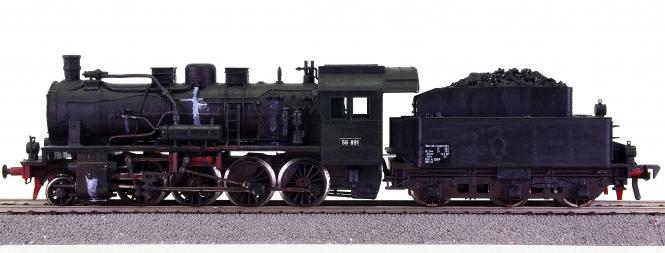 Fleischmann – Schlepptender-Dampflok BR 56.8 der DRG, Einzelstück