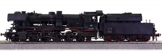 M+F (Merker u. Fischer) – Güterzug-Schlepptender-Dampflok BR 50.4 der DB