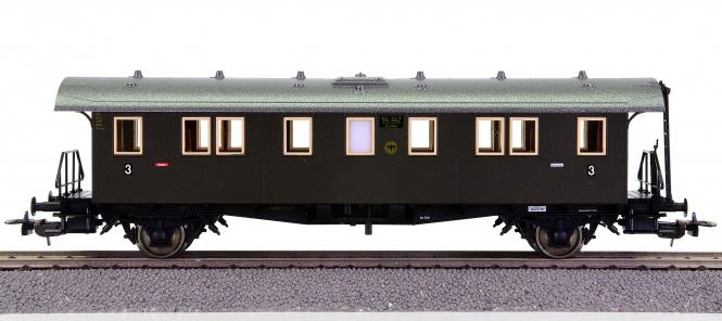 Piko 53143 – 3. Klasse Personenwagen der DRG