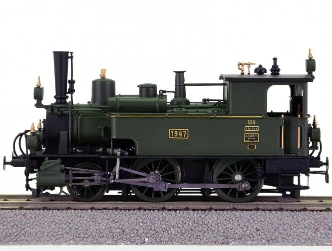 Modellbau Fuchs 600 – Tender-Dampflok DIX (BR 70) der K.Bay.Sts.B.