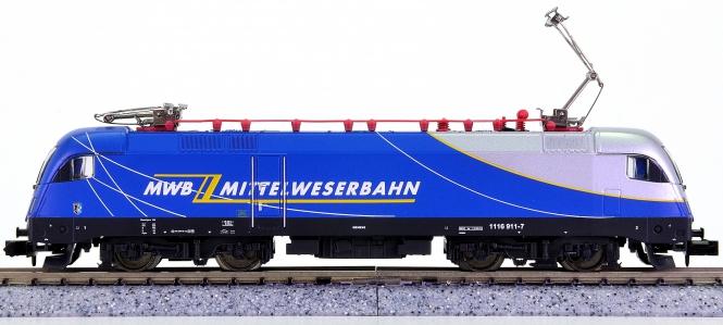 Trix 12552 (N) – Mehrzweck-Elektrolok BR 1116 der MBW, digital (DCC)