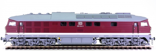 Kiss 420009 (Spur 0) – Mehrzweck-Diesellok BR 232 Ludmilla der DB, digital