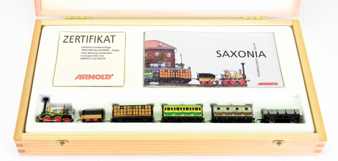 Arnold 0247 (N) – SAXONIA Zugset der LDE - Leipzig-Dresdner Eisenbahn-Compagnie