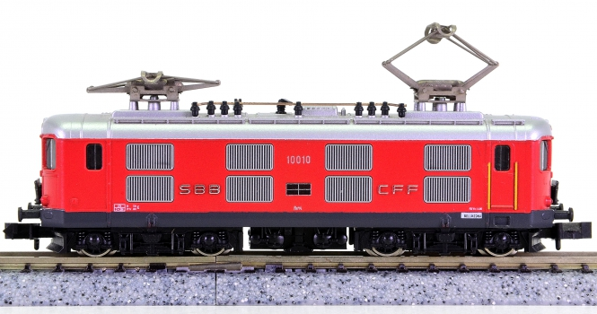 Hobbytrain / Kato 11019 (N) – Elektrolokomotive Re 4/4 I der SBB