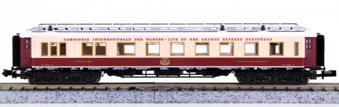 Trix 13179 (N) – Orient-Express-Speisewagen der CIWL, Innenbeleuchtung