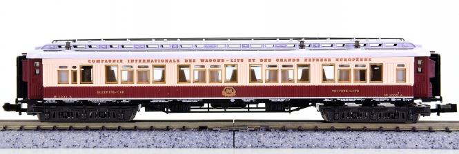 Trix 13180 (N) – Orient-Express-Schlafwagen der CIWL, Innenbeleuchtung