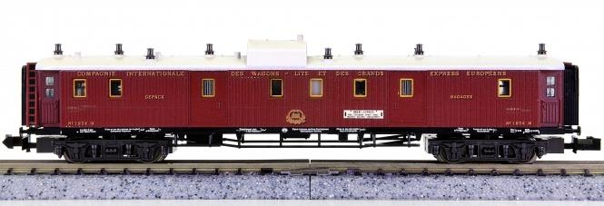 Trix 13182 (N) – Orient-Express-Gepäckwagen der CIWL, Innenbeleuchtung
