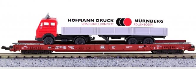 Fleischmann 8278 (N) – Niederflurwagen rollende Landstraße der DB
