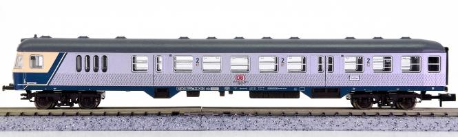 Fleischmann 8140 K (N) – 2. Klasse Nahverkehrs-Steuerwagen Silberling der DB AG