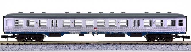 Fleischmann 8142 K (N) – 2. Klasse Nahverkehrs-Wagen Silberling der DB AG
