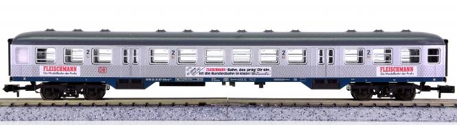 Fleischmann 8898 K (N) – 2. Klasse Nahverkehrs-Wagen Silberling der DB AG