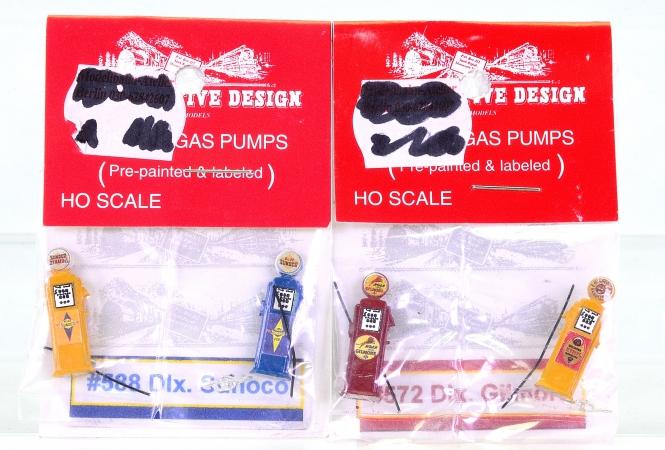 JL Innovative Design (H0) – 2er Set 2x Gas Pumps