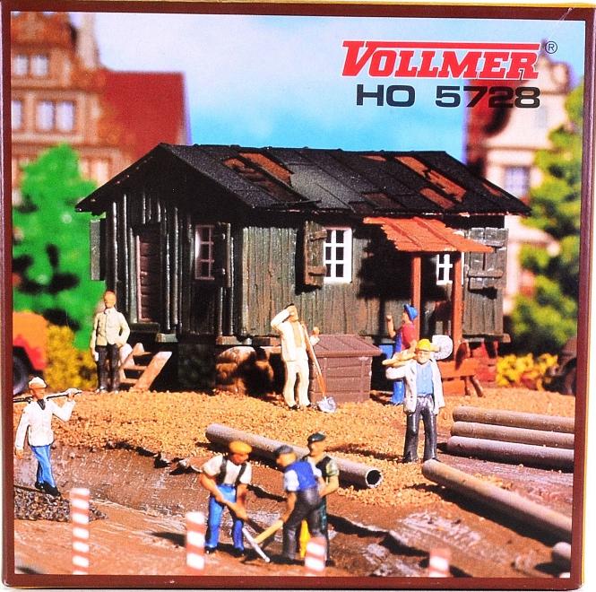 Vollmer 5728 – Bausatz Bauhütte