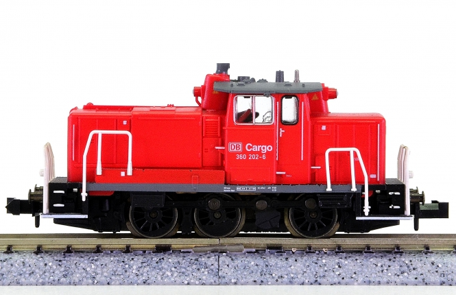 Trix 12145 (N) – Rangier-Diesellok BR 360 der DB Cargo