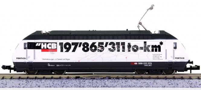 Trix 12674 (N) – Mehrzweck-Elektrolok Re 460 HCB der SBB, digital (DCC)