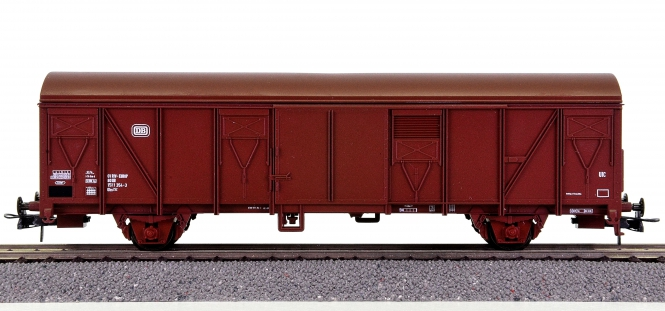 Roco 44324A – Gedeckter Güterwagen Gbs 252 der DB