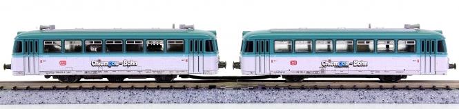 Trix 12989 (N) – 2-tlg. Diesel-Triebzug BR 798 der Ciemgau-Bahn (DB AG)