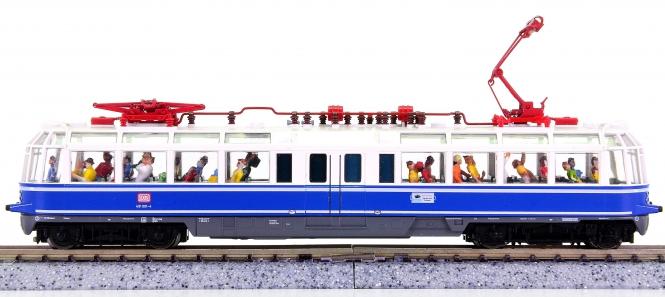 Fleischmann 7411 (N) – Elektrotriebwagen BR 491 der DB AG, mit Innenbeleuchtung