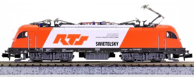 Hobbytrain H2713 (N) – Mehrsystem-Elektrolok BR 1216 der RTS