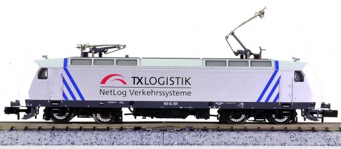 Fleischmann 82 7321 (N) – Elektrolokomotive BR 145 der TX Logistik, digital