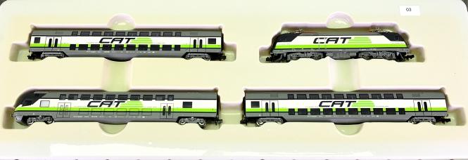 Trix 11610 (N) – 4-tlg. Nahverkehrs-Zug CAT der ÖBB mit BR 1116, digital (DCC)