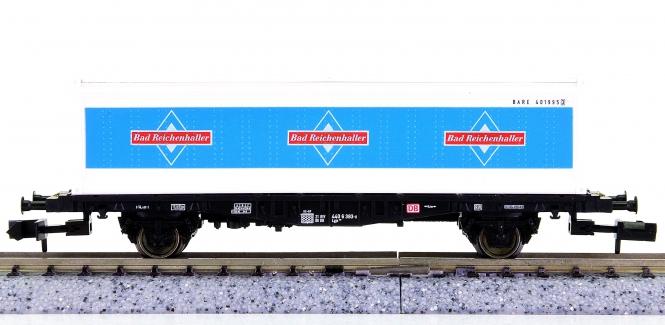 Fleischmann 8240 K (N) – Containertragwagen Bad Reichenhaller der DB