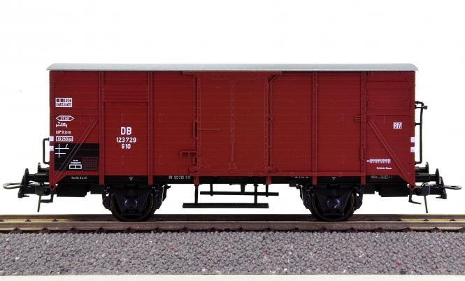 Roco 46820 – Gedeckter Güterwagen G10 der DB