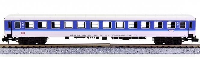 Fleischmann 8179 K (N) – 2. Klasse InterRegio-Wagen mit Zugschlussbel. der DB