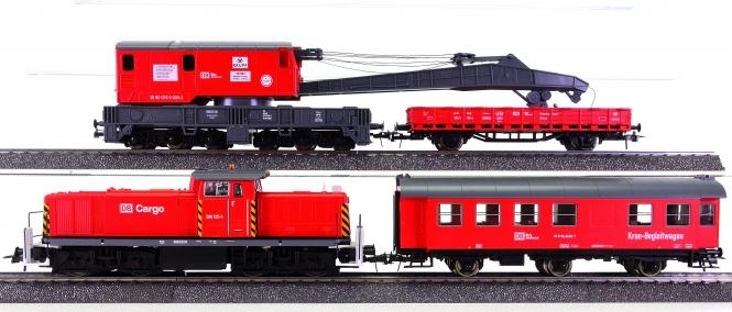 Roco 43147 (AC) – 4-teiliger Bauzug mit BR 290 der DB AG, digital (mfx)