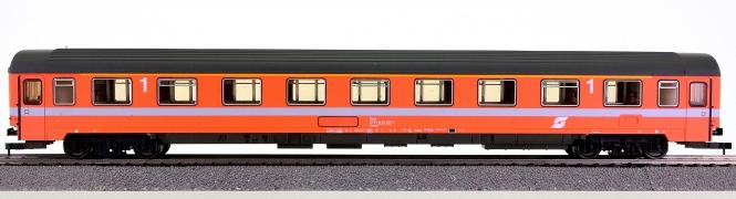 Roco 54236A – 1. Klasse Eurofima Abteilwagen Amoz der ÖBB