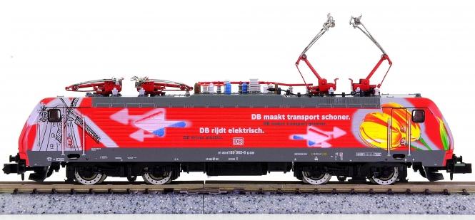 Trix 12355 (N) – Mehrsystem-Elektrolok BR 189 Tulpenlok der DB AG, digital