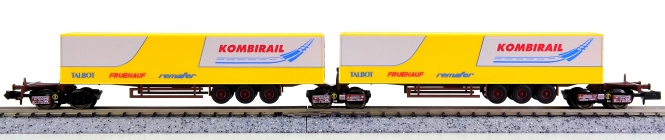 Trix 15200 (N) – Güterwagen-Set Kombirail der DB AG