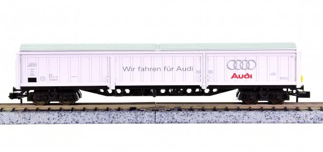 Fleischmann 8383 K (N) – Großraum-Güterwagen Audi der DB AG