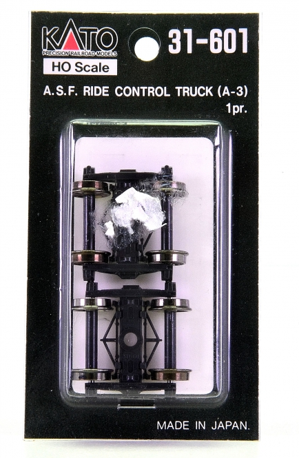 Kato 31-601 – 1 Paar A.S.F. Ride Control Truck (A-3)