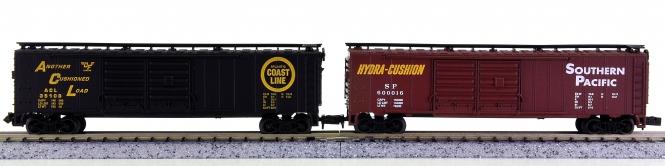 Life-Like 7342, 7343 (N) – 2 70 Ton Hi-Cube Cars der ACL und SP