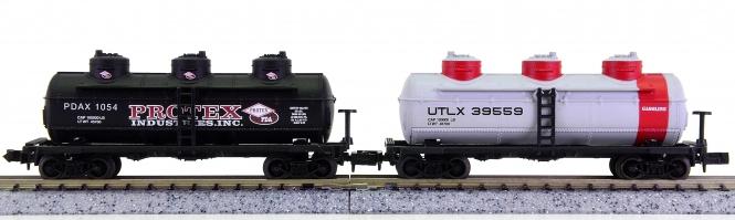 Life-Like 7372, 7373 (N) – 2 10000 LB Tankwagen der ULTX und Protex