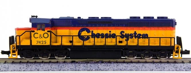 Model Power C&O-7425 (N) – Diesellok der Chesapeake and Ohio Railway