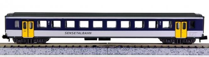 Arnold 3255 K – 2. Klasse Schnellzugwagen der Sensetalbahn (STB)