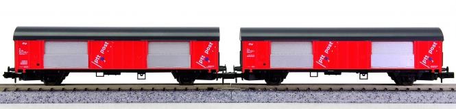Arnold 0223-1/4214 – 2-teiliges Post-Wagen-Set der NS