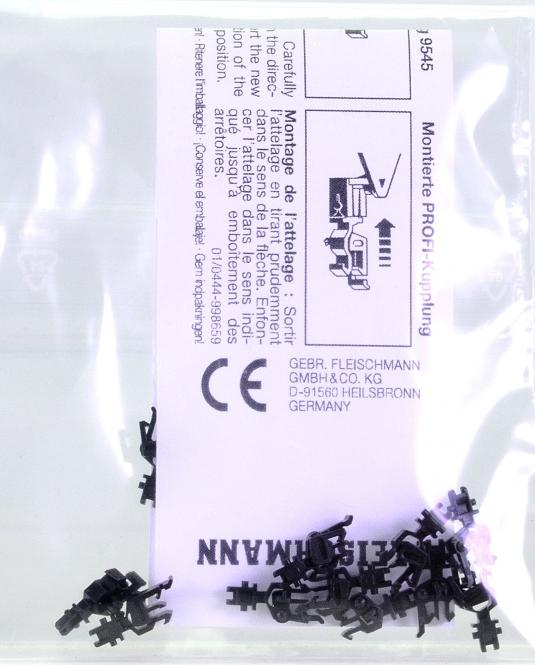 Fleischmann 9545 (N) - 10 X Fleischmann N Profikupplungen 9545