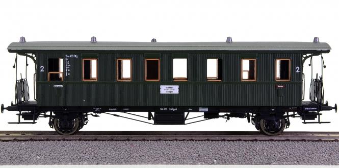 Brawa 45110 – 2. Klasse Personenwagen Bid der DB