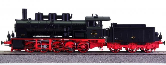 Brawa 40152 – Schlepptender-Dampflok BR 57.4 der DRG, digital + Sound
